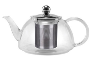 1200ml best glass tea pot