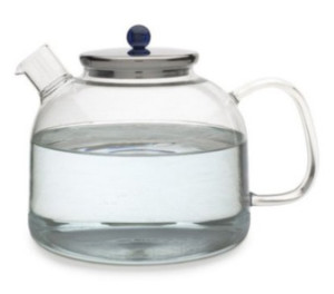 adagio glass tea pot
