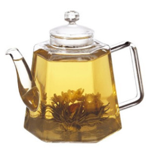grosche 1250 glass tea pot
